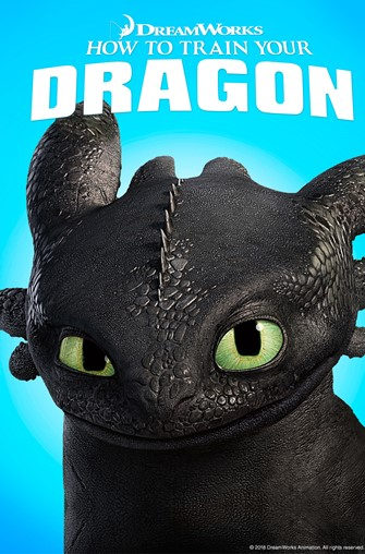 McKenna's Rae of Hope presents a FREE Park & Play Movie: How to Train Your Dragon Movie Poster