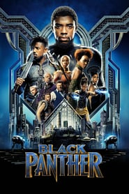 Black Panther at the World Drive-In Movie Poster