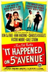 It Happened on Fifth Avenue Movie Poster